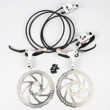 Mountain bike folding bicycle hydraulic disc brake handle brake Aluminum Alloy bicycle brake