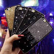 Buy Fashionable Bling Glitter Case iPhone 6 Cases iPhone 6S PLus Back Cover Luxury Love Star Quicksand Shining Phone Cases for $2.91 in AliExpress store
