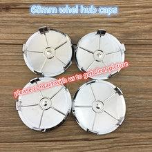 20 PCs 68mm Azul Branco vermelho preto completo M preto Centro logotipo  Roda tampas Emblema para X1 X3 X5 X6 Z4 E90 316 318 M3 X.. 8b533b9d17