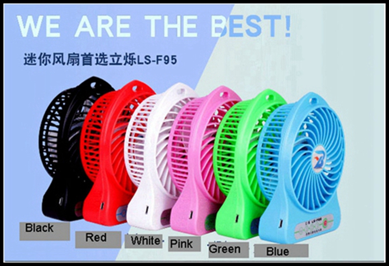LISHUO USB rechargeble Mini Fan 5