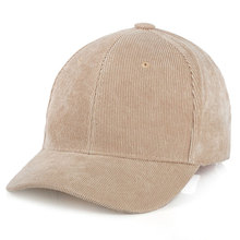 Men Womens Corduroy Cord Baseball Cap Adjustable Strap Back Trucker Hats