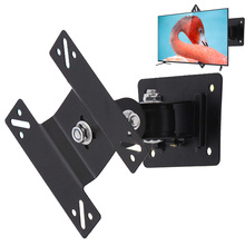 "14""-24"" LCD LED Screen Flat Panel VESA 75/100 TV Wall Mount Stand Bracket Holder Monitor Articulating Adjustable Swivel Tilt"