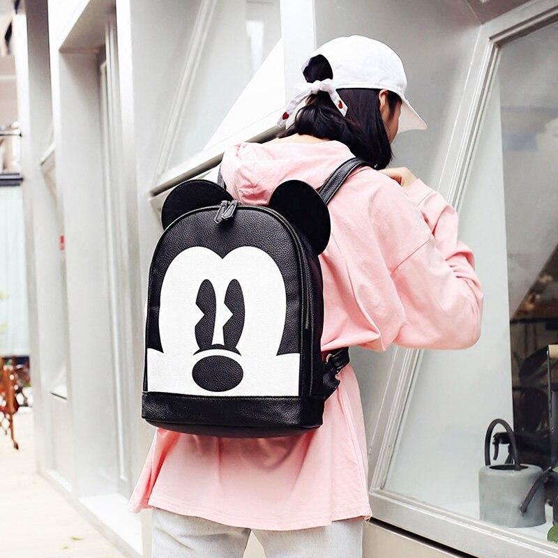 School Backpacks For Boys Cute Kid Toddler School Bags Minnie Mickey Backpack Kindergarten Schoolbag Cartoon Mochila Infantil<br>