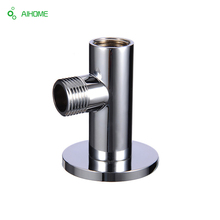 Chrome brass shower holder shower head Mounting 1/2 joint shower arm bracket shower head fitting free shipping(China)