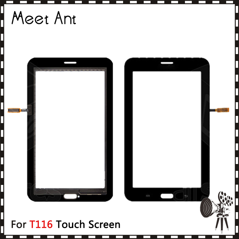 "10Pcs/lot 7.0"" For Samsung Galaxy Lite 3 T113 and Lite 4 T116 Touch Screen Digitizer Sensor Front Outer Glass Lens Panel"