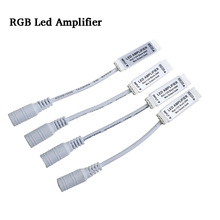 1-100pcs RGB Led Amplifier DC12V 24V  Signal Controller with Female DC Connector Amplificador Power Accessories for Strip Light