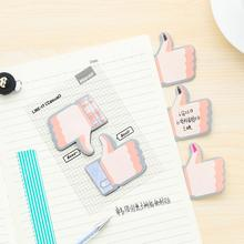 Creative Thumb Good Encourage Memo Pad N Times Sticky Notes Escolar Papelaria School Supply Bookmark Post it Label