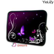 Purple Butterfly 7.9 Notebook sleeve tablet case 7 Laptop Bag tablet cover mini computer Protective Skin for ipad mini 4 TB-5083