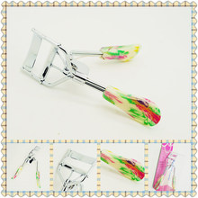 2017 Hot Sale New Freeshipping Factory Direct Selling Beauty Make Up Tool flower coated on handle Eyelash Curler(China)