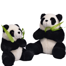 "Cutely New Style Plush Doll Stuffed Emulational Toy Panda Holding Bamboo Soft Pillow for Kids Boy and Girl Gift 11*11.5""(China)"