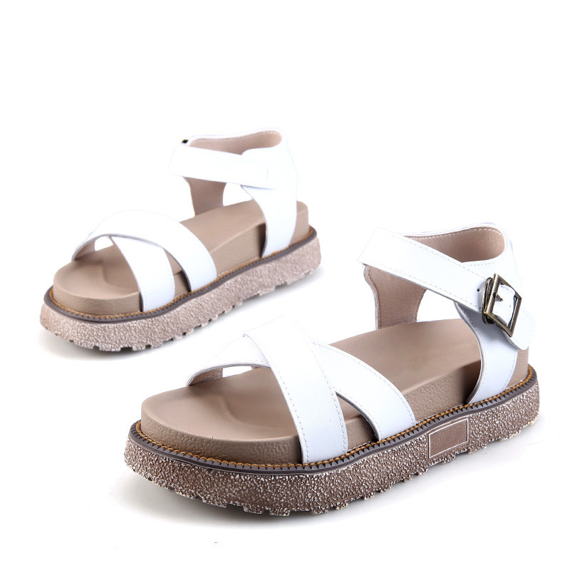 2017-New-Gladiator-Sandals-Summer-Leather-Woman-Flat-Thick-Bottom-Platform-Sandals-Ladies-Roman-Casual (2)