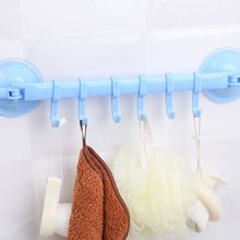 1Pcs Strong Wall Suction Cup Sucker Wall Hooks Hanger Door Kitchen Bathroom Vacuum Hooks Organizer For Bags Clothing A40(China)