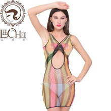 Buy leechee J005 Women sexy lingerie Babydoll Perspective Teddy sexy erotic underwear lenceria sexo Fishnet Dress porn costumes