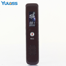 Yulass 8GB Digital Audio Voice Recorder Professional Portable USB Voice Sound Recorder Dictaphone With MP3/WAV Format(China)