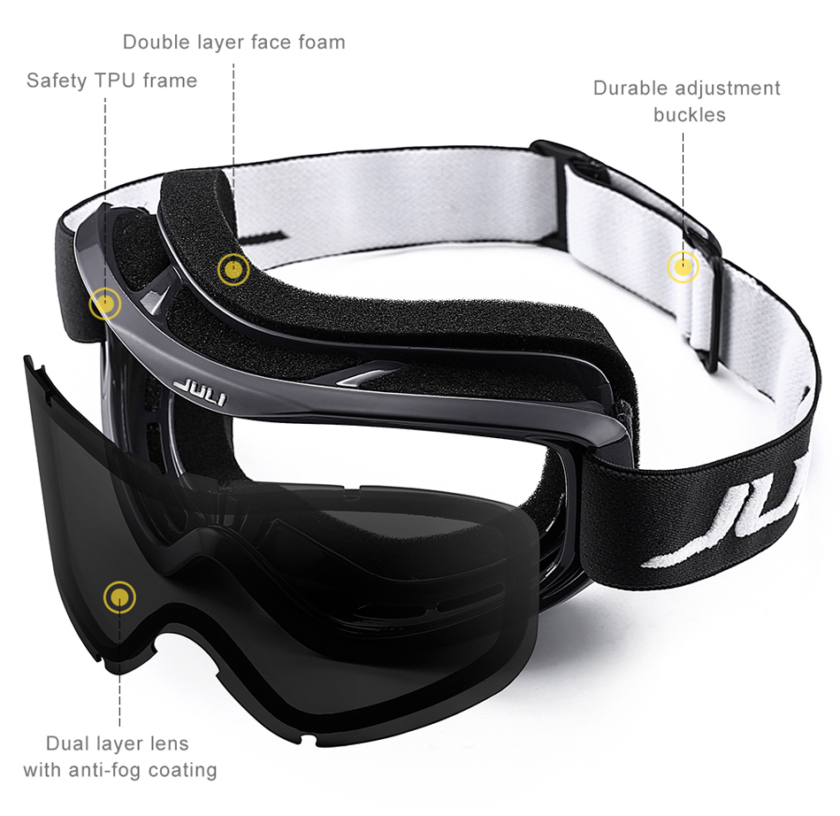 snowboard goggles men anti fog