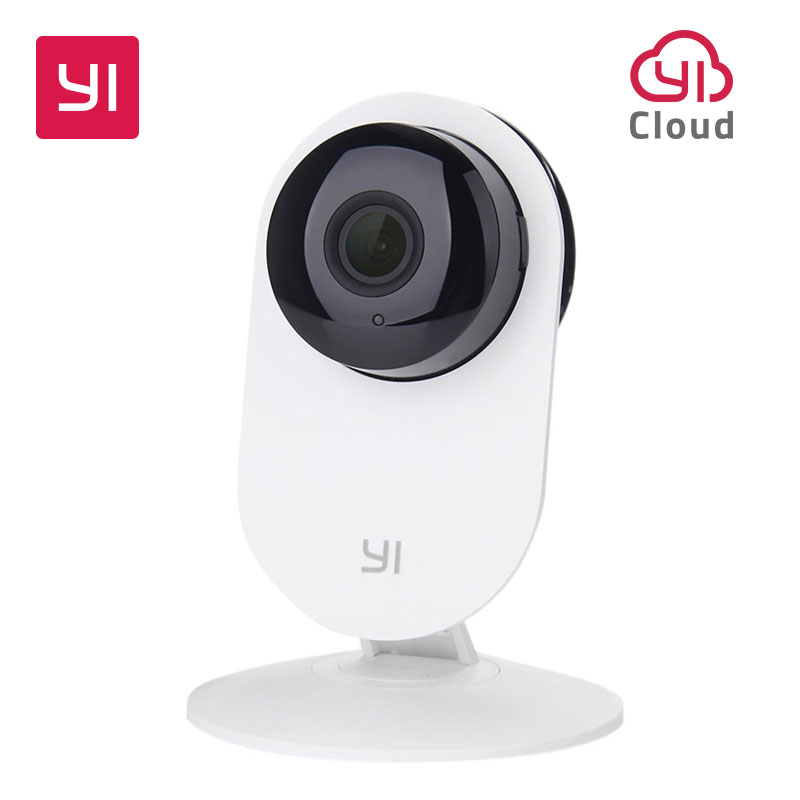 YI Home Camera 720P HD Video Monitor IP Wireless Network Surveillance Security Night Vision Alert Motion Detection EU/US Version<br>
