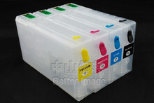 788XXL Empty  Refillable ink cartridge with single use chips for Epson WorkForce Pro WF-5690 Network Multifunction Color Printer
