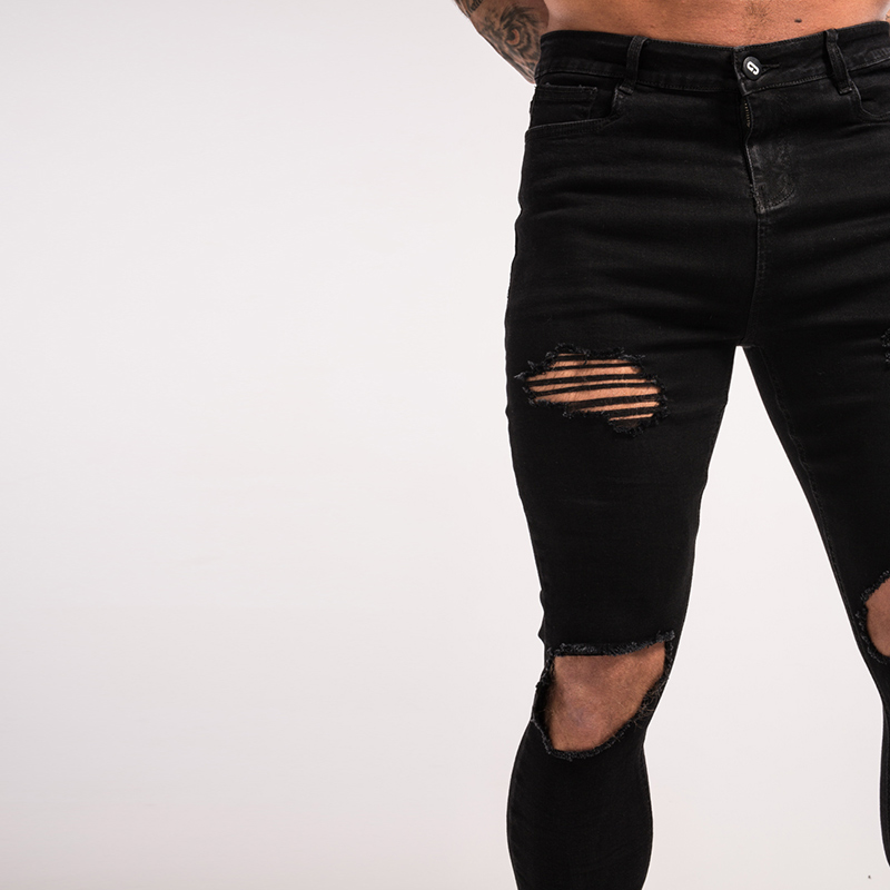 -mens-skinny-jeans-black-ripped-stretch-ripped-repaired-zm25-6