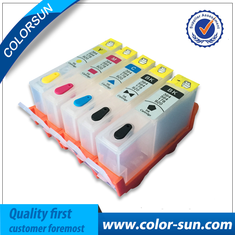 Compatible for HP 178 5pcs Ink Cartridge For HP Officejet Pro B110 C309A C309G B109 CN245C CN503C B209 Printer Without Chip<br><br>Aliexpress