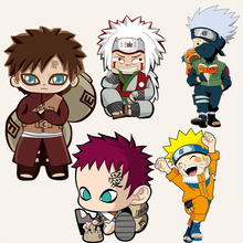 Q version of the Naruto heat transfer Offset heat transfer patterns DIY handicraft clothing patch paste decorative stickers