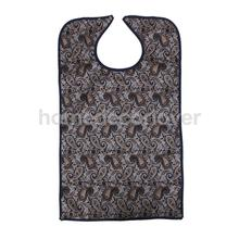 Waterproof Adult Mealtime Bib Protector Disability Aid Apron Vantage Pattern(China)