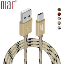 Olaf USB Type C Cable USB C Fast Charger Data Cable Type-C USB Charging Cable For Xiaomi mi5 Oneplus Meizu Nexus 5x 6p Huawei P9