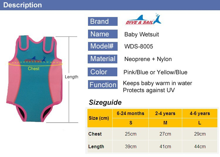 WDS-8005-7-Soles-Up-Front-Baby-Wetsuit-Baby-Warmer.-2mm-Neoprene-Wet-Suit-for-swimming-pool-or-beach