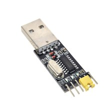 Free Shipping CH340 module USB to TTL CH340G upgrade download a small wire brush plate STC microcontroller board USB to serial