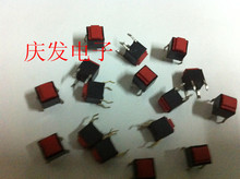 Original new 100% Japan switch silent waterproof dustproof rubber buttons 6*6*6.5 push button switch