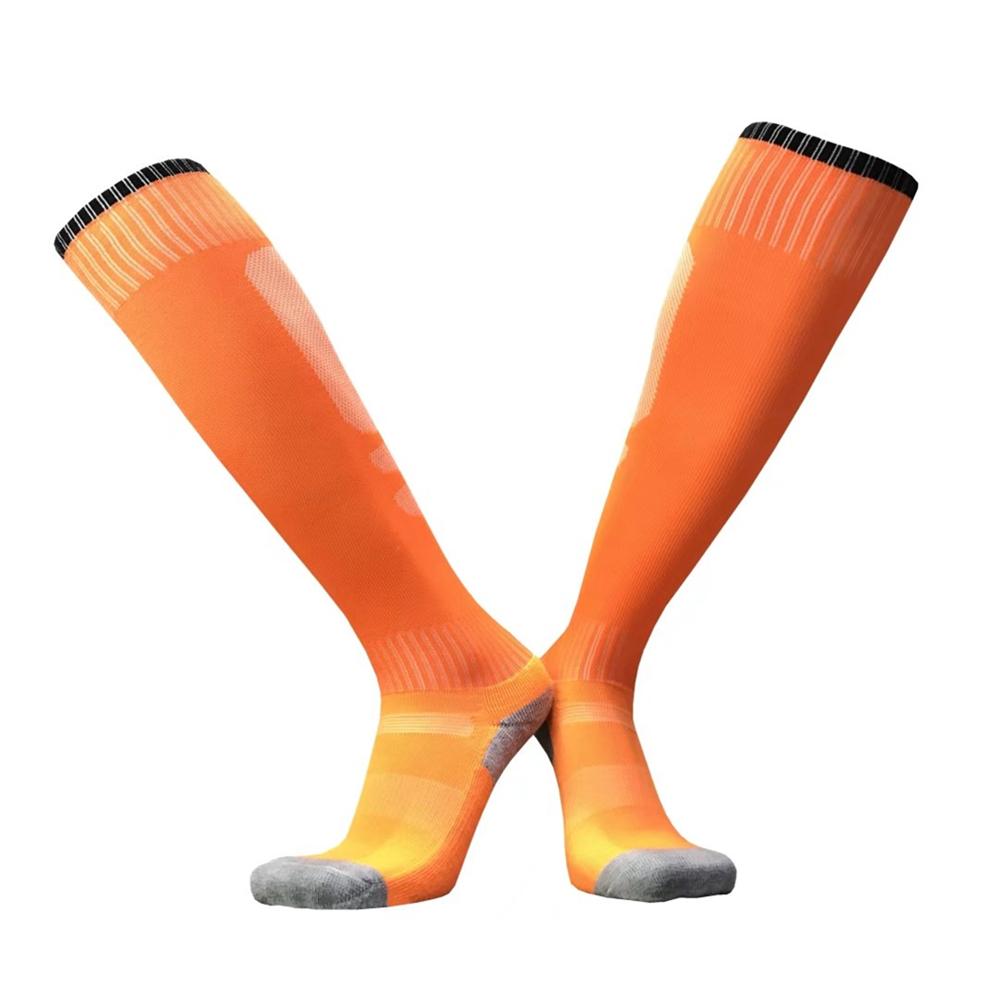 17 sport socks football soccer socks Cycling running men kids boys long towel socks basketball sox medias de futbol non-slip 16