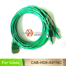 10FT Network Router Cable HD8 Cable CAB-HD8-ASYNC Cable 8-port EIA-232 Async for Cisco Router