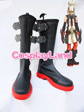 Customize Boots The King of Fighters Cosplay Ash Crimson Cosplay Shoes Halloween Party Cosplay Shoes
