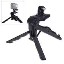 Foldable table tripod Handheld tripods Monopod Stick with Mount Adapter for GoPro HD Hero 5 4 Session  3+ /2/1 action Carmera