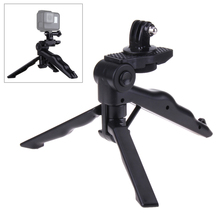 Foldable table tripod Handheld tripods Monopod Stick with Mount Adapter for GoPro HD Hero 5 4 Session 3+ /2/1 action Carmera(China)