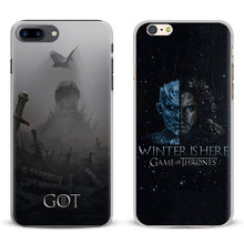 Game of Thrones GoT Season 7 Tv Design Coque For Apple iPhone 7 Plus 6S 6 Plus 5 5S SE 4 4S Mobile Phone Case Cover Shell Bag