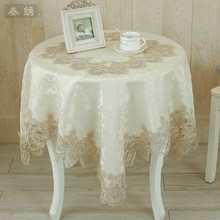 2017 Luxurious Embroidery Table Cloths Towel free Shipping European Style Tablecloth Dining Gabe Rustic Wallpaper T80322-10