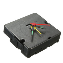 NEW DIY Quartz Clock Movement Mechanism Module Hands Self Starting BlackReplacement(China)