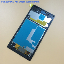 Buy Sony Xperia Z1 L39h C6902 C6903 C6906 C6943 Black Touch Screen Digitizer Sensor Panel + LCD Display Monitor Assembly Frame for $11.50 in AliExpress store