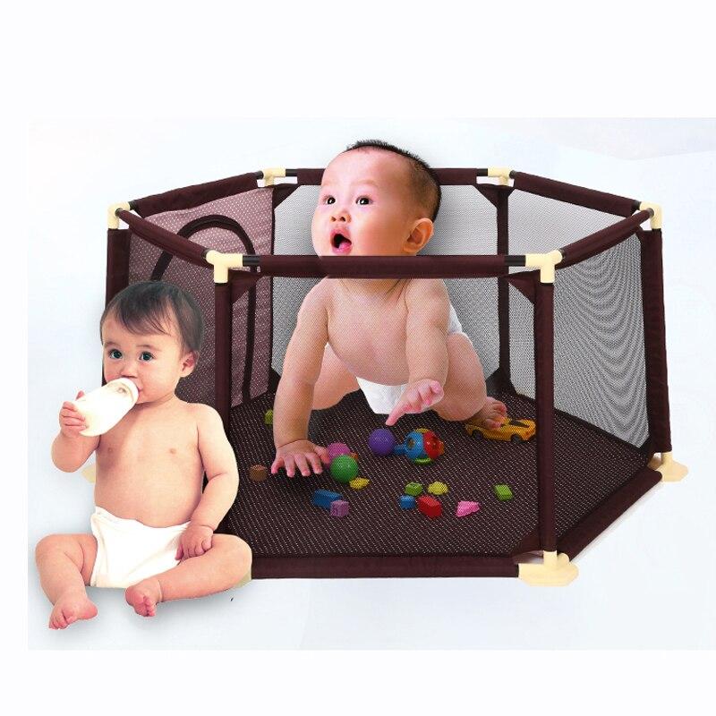 Baby Дети Безопасность Защита Уход Манеж Палатка Ползать Игра Складной Забор Игрушки Ограждения Игры Дом Крытый Открытый для Детей(China)