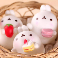 Dropshipping 2017 NEW Mochi Cute Rabbit Squishy Squeeze Healing Fun Kid Toy Gift Stress Reliever Decor