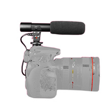 New arrival built in 2 chips stereo Microphone with 1/4'' standard screw for Cameras DSLR CANON SONY NIKON Video DV