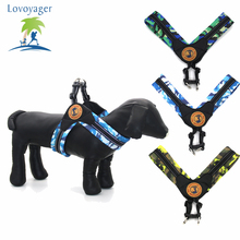 Camouflage Mesh Dog Harness medium size dogs comfort for walking Reflective Pet Training Vest S/M/L(China)