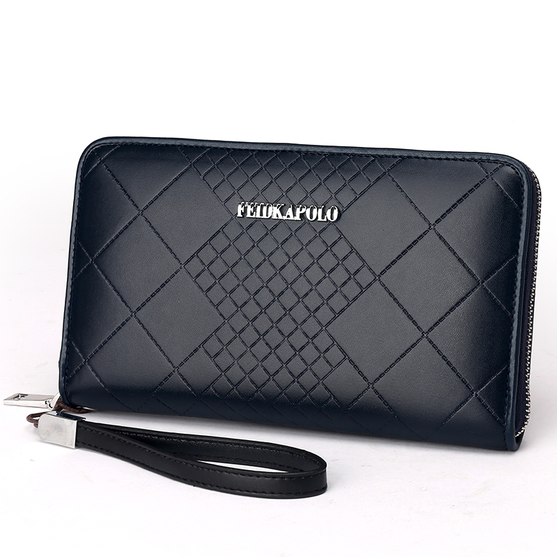 Mens Clutch Wallets Handy new arrival leather men wallets quality PU long clutch fashion designer card holders business purse<br><br>Aliexpress