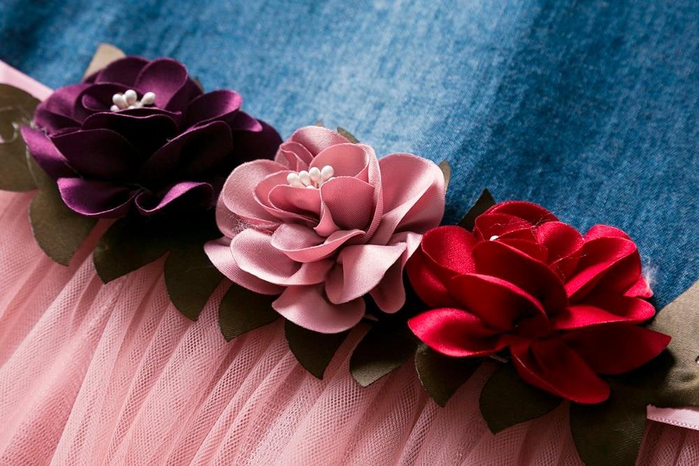 292be10d241 2019 Cielarko Baby Girls Dress Infant Flower Dresses For Birthday ...
