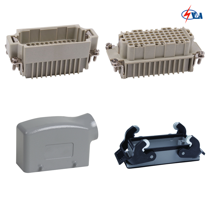 HDD-072 250v 72pins MCFC Edge Connector Industrial Multipole 10A Heavy Duty Connector<br>