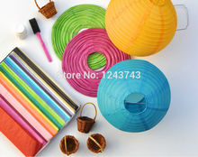 "5pc 8-16"" (20,25,30,40)cm Decorative Paper Lampion Ball Festival Supplies Chinese Paper Lantern For Wedding Party Decoration"
