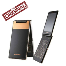 Original New Lenovo A588T Flip Cell Phone MTK6582 Quad Core 1.3GHz 512MB RAM 4G ROM Android 4.4 5.0MP Camera 4.0'' 800*480P GSM