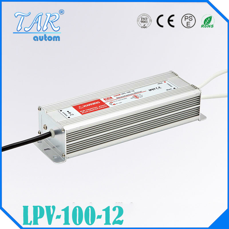 DC 12V 100W IP67 Waterproof LED Driver,outdoor use for led strip power supply, Lighting Transformer,Power adapter,Free shipping<br><br>Aliexpress