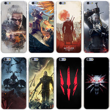 Witcher Wild Hunt Hard Transparent Cover Case iPhone 7 Plus 6 6S 5 5S SE 5C 4 4S - Lavaza Official Store store