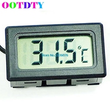 LCD Digital Tank Water Meter Detector Thermometer Electronic Fish Tank Water For Aquarium With Retail Package(China)